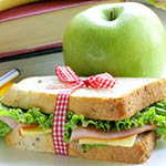healthy food and snacks