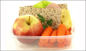 nut-free lunches snacks