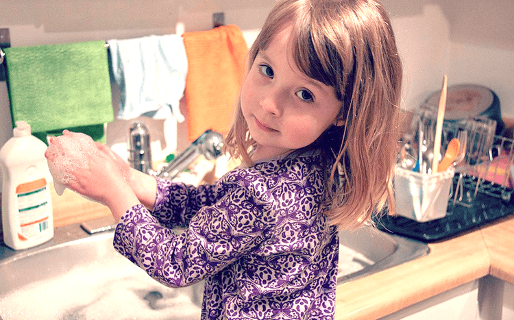 5 products for messy kids