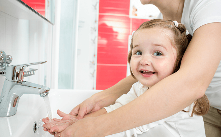 How to teach kids about handwashing