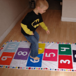 indoor activities, hopscotch