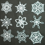 make snowflakes, indoor activities
