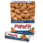 PureFit Almond Crunch Premium Nutrition Bar