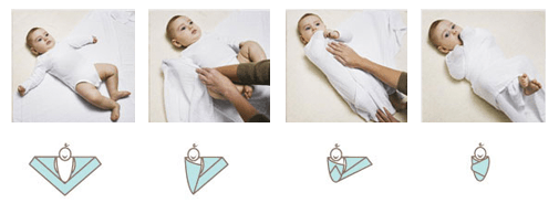 how to use a swaddle blanket