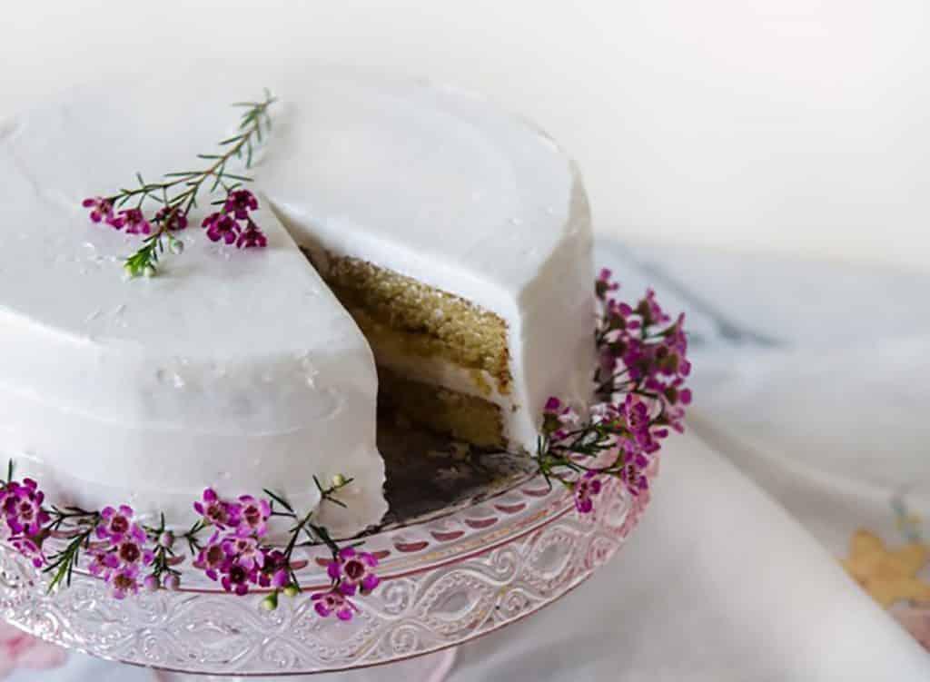 Magically Moist Gluten-Free Almond Cake