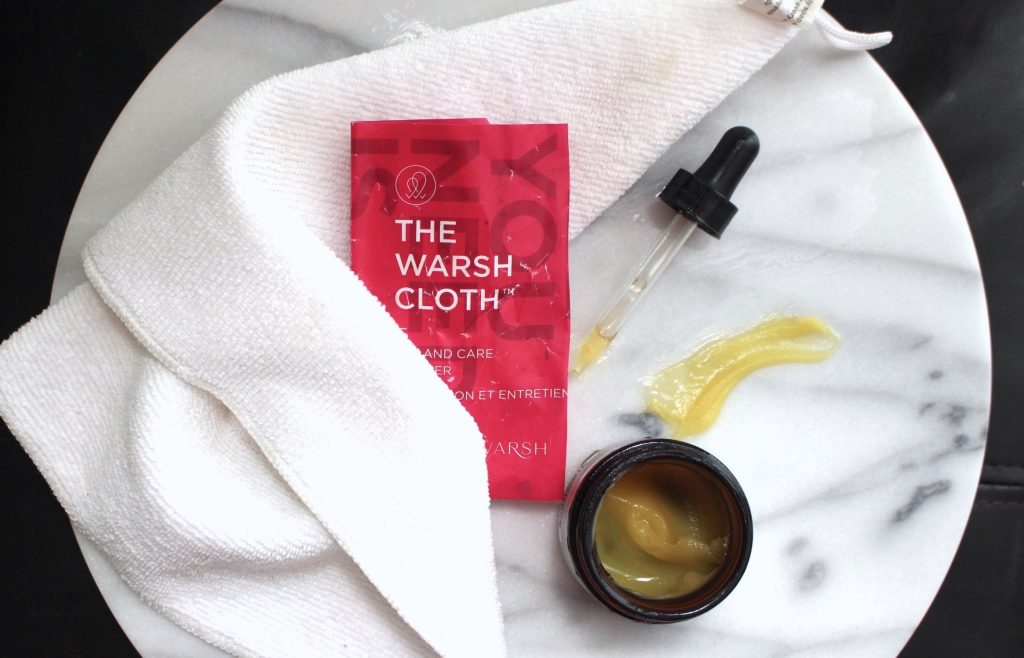 Skincare Products and the Warsh Cloth