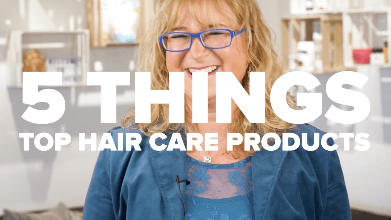 top 5 hair care products thumbnail