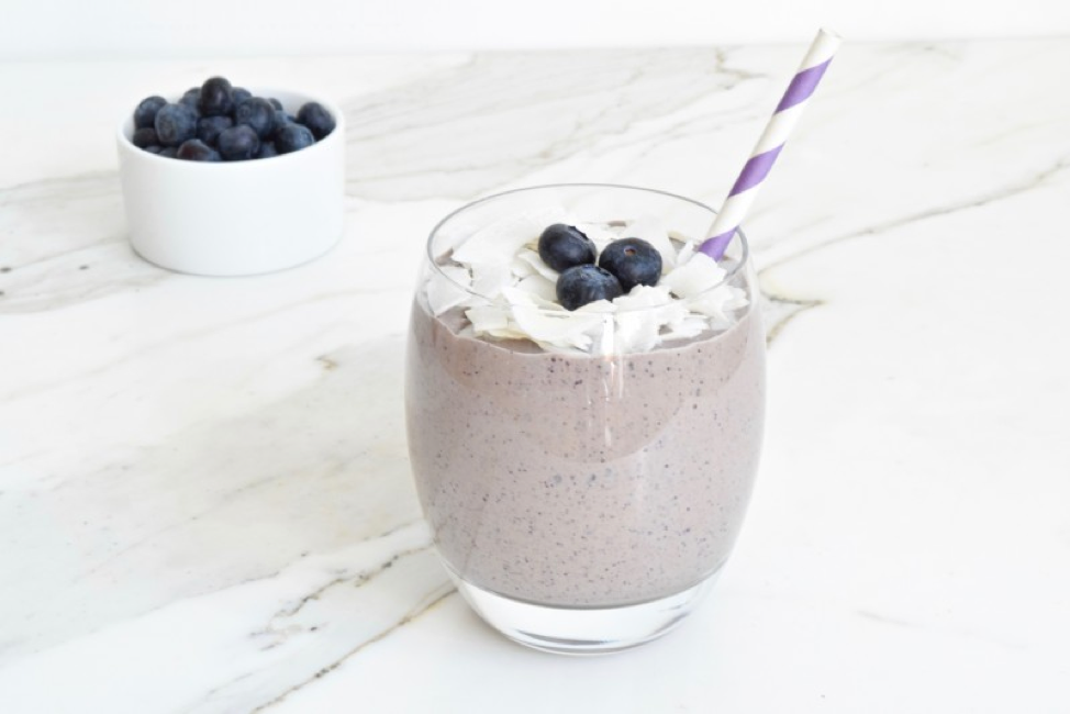 Blueberry Protein Smoothie from Maria Marlowe