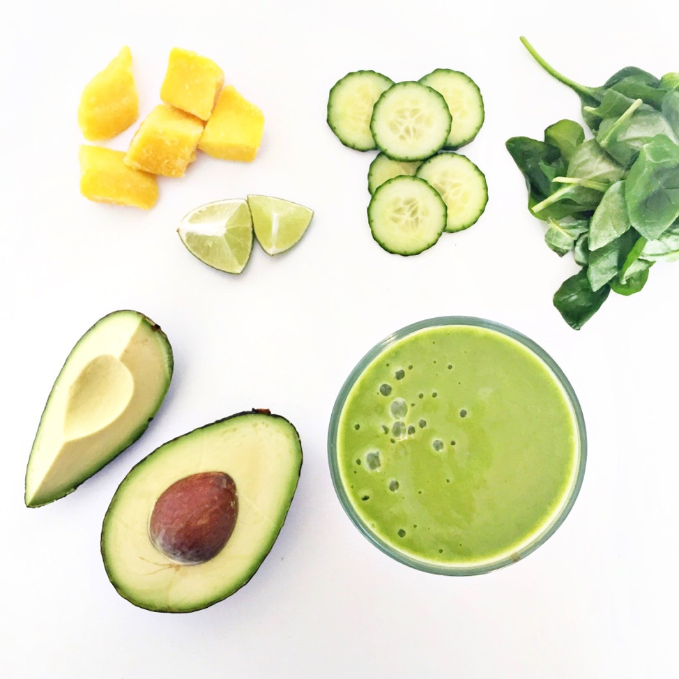 Green Mango Spa Smoothie from Clean Food Dirty City