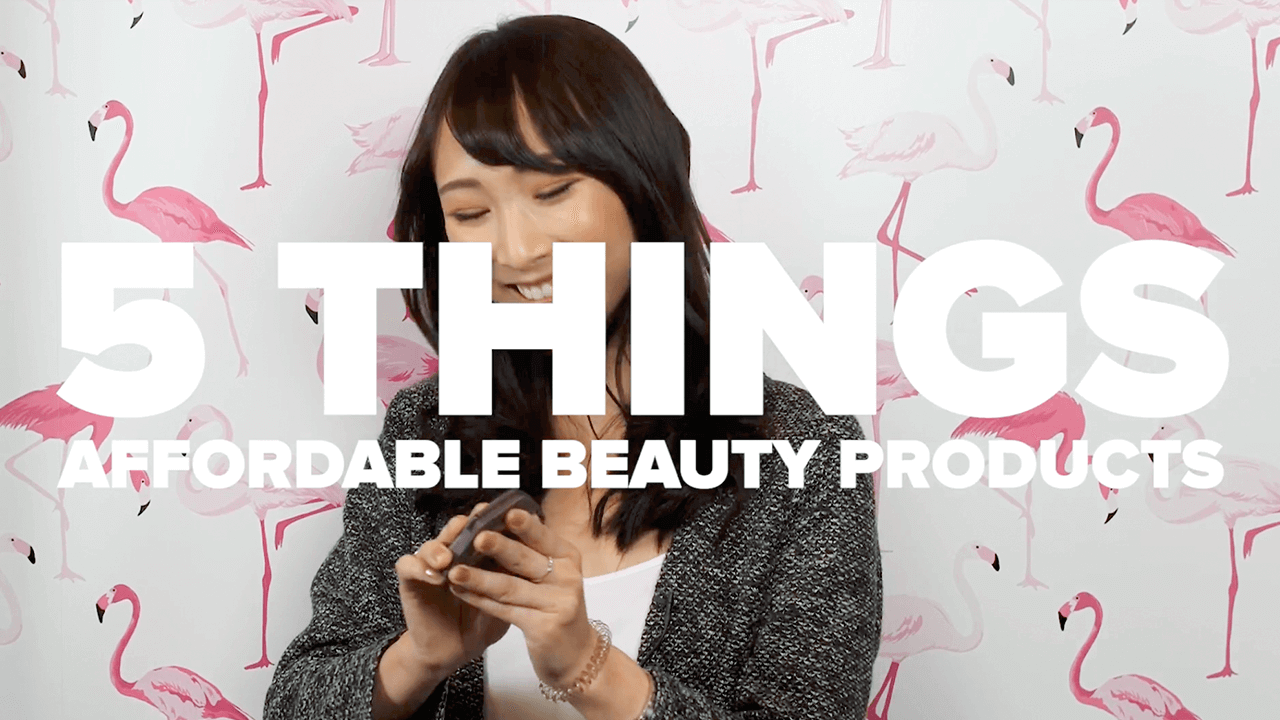 affordable beauty thumbnail
