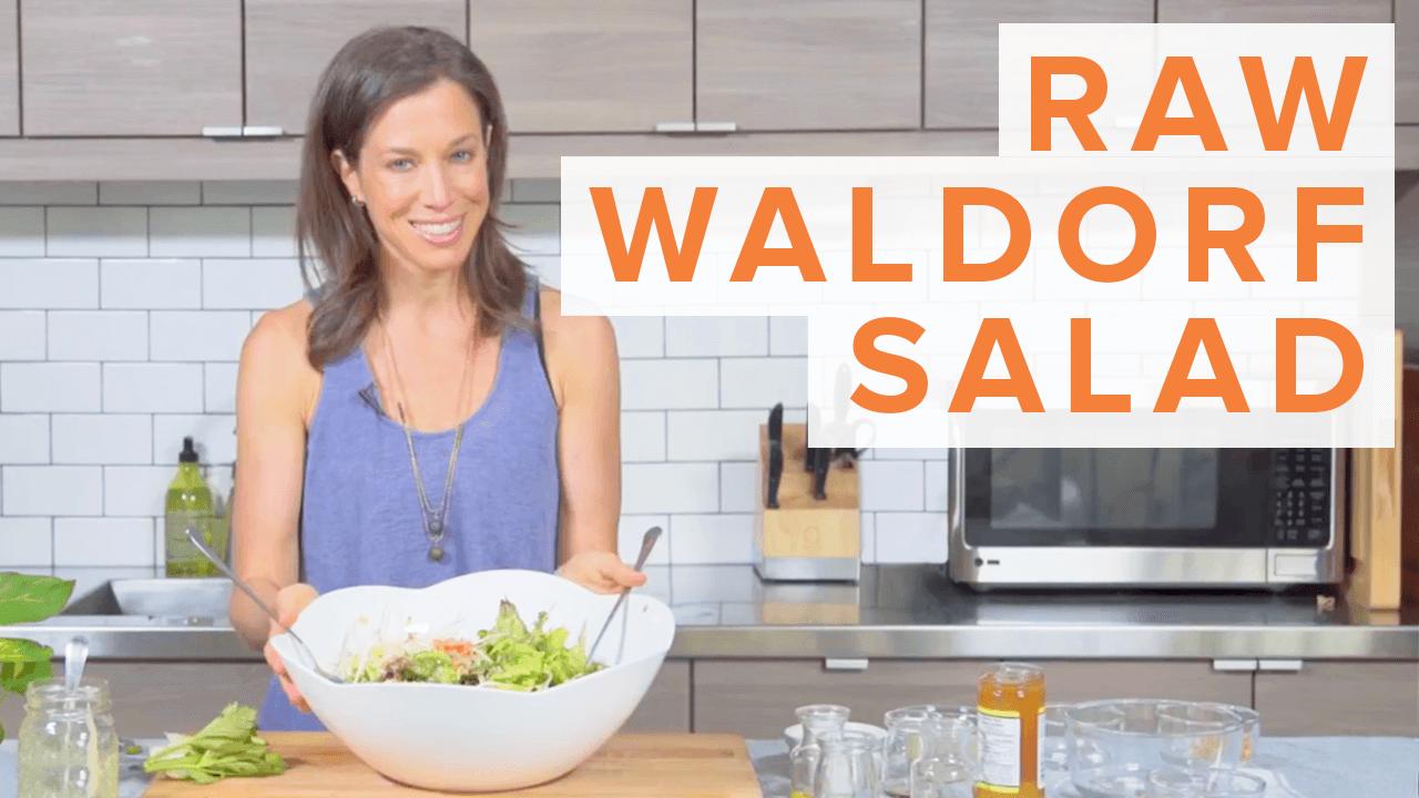 raw waldorf salad thumbnail