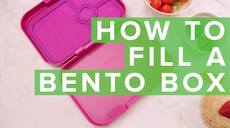 how to fill a bento box thumbnail