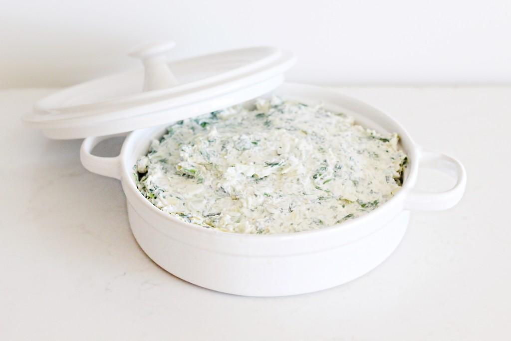 Spinach Artichoke Dip from Fraiche Nutrition