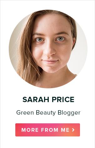 Sarah Price, Green Beauty Blogger