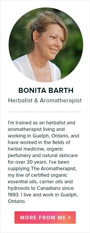 bonita barth, herbalist & aromatherapist