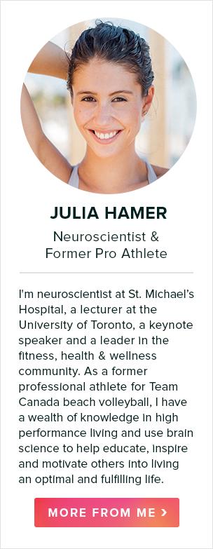 julia hamer, neuroscientist & former pro athlete