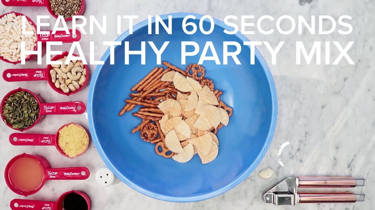 healthy party mix thumbnail