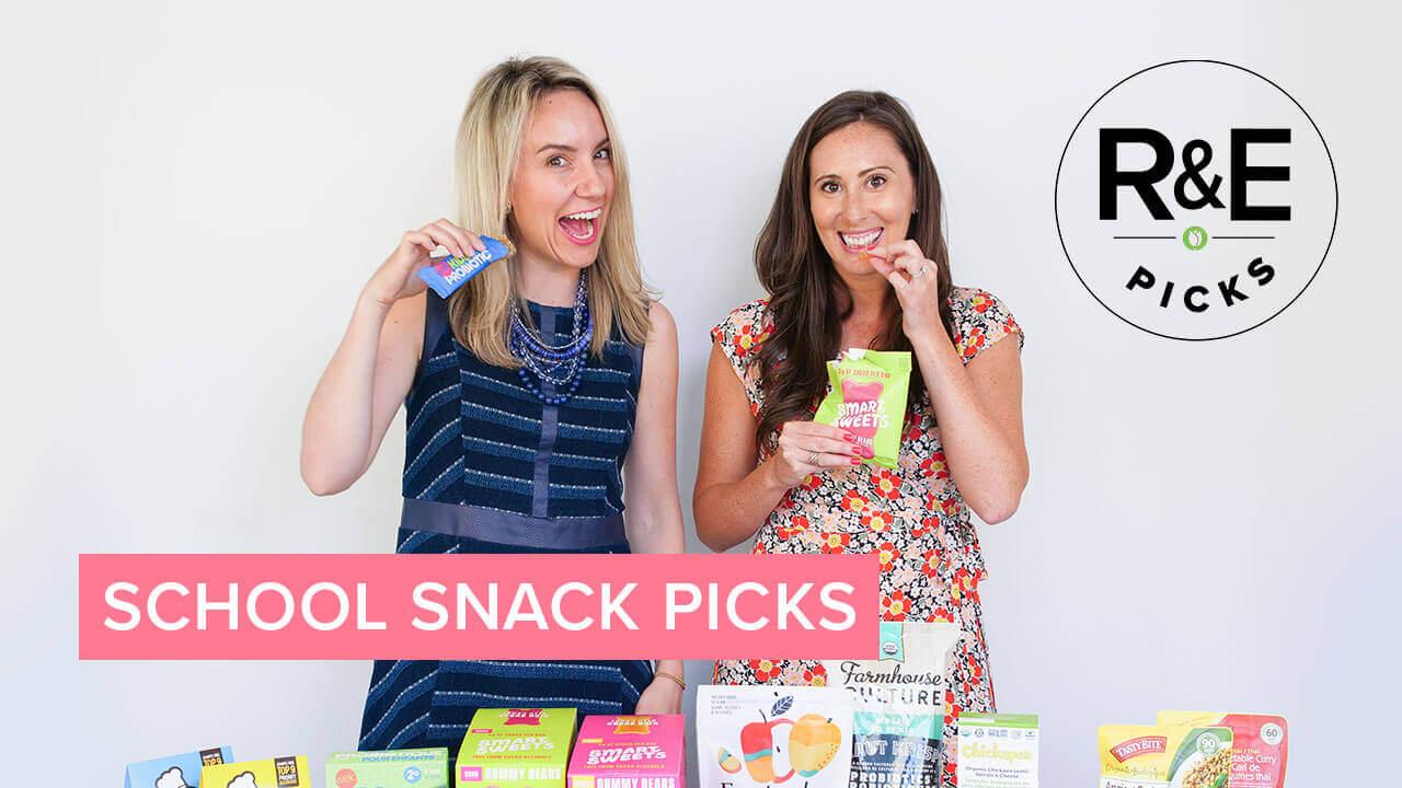 rebecca & erin's school safe snack picks