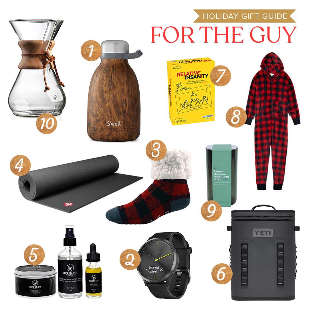 gift guide for the Guy on your list