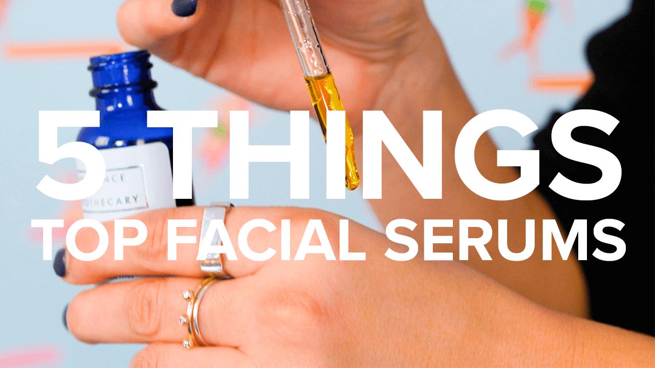 facial serums thumbnail