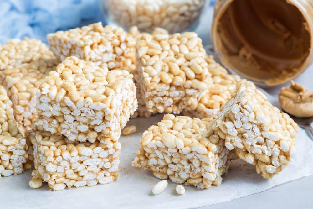 home made rice crispy treats